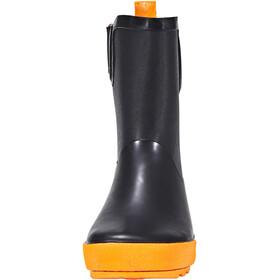 Kamik Rainplay Kumisaappaat Lapset, black/orange